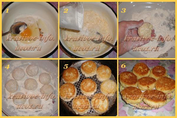 Пышные сырники рецепт с фото пошагово