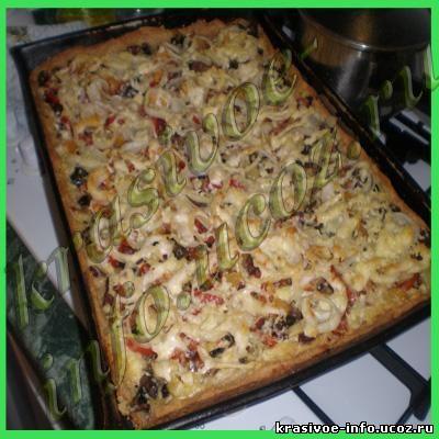 Пицца выпечка рецепты фото рецепты